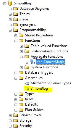 SSDT CLR  C# Aggregates 3