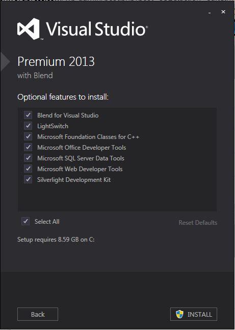 SSDT for VS2013 1